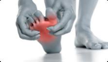 Douleurs de l'avant pied